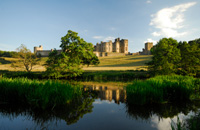 Alnwick Castle and The River